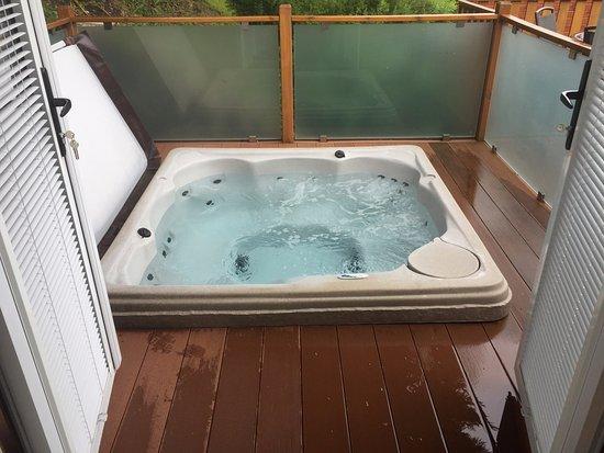 Troutbeck, UK: Hot tub