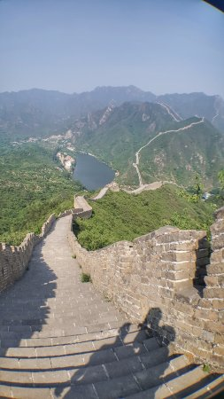 Side-car Motorcycles Trips - Beijing Sideways : The Great Wall! All to yourself