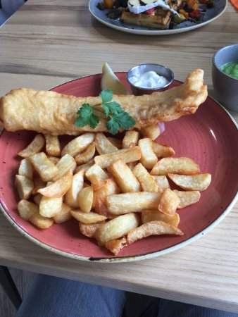 Leighton Buzzard, UK: Cod and Chips