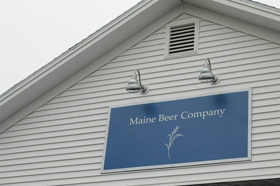 Freeport, ME: Maine Beer Company, easily visible from the road