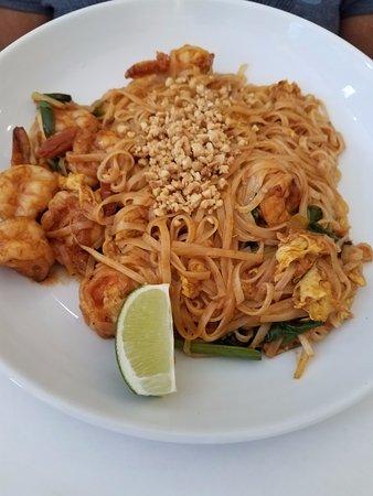 Peachtree City, Georgien: Shrimp Pad Thai