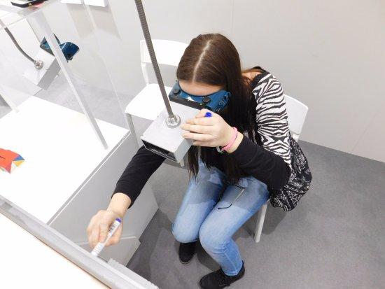 Brno, República Tcheca: Zrcadlové brýle