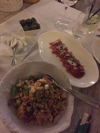 Sa Punta de Talamanca : Grilled vegetable salad