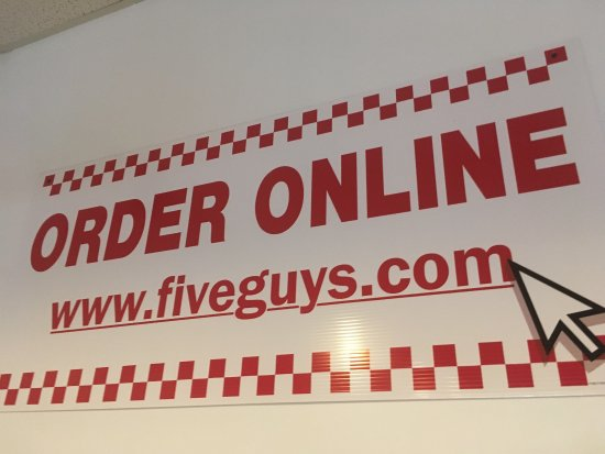 Edgewater, MD: Fabulous Five Guys!!!
