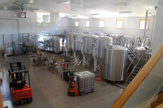 Freeport, ME: Brewery operations, Maine Beer Company, June 2014