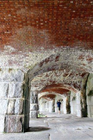 Phippsburg, เมน: Fort Popham State Historic Site