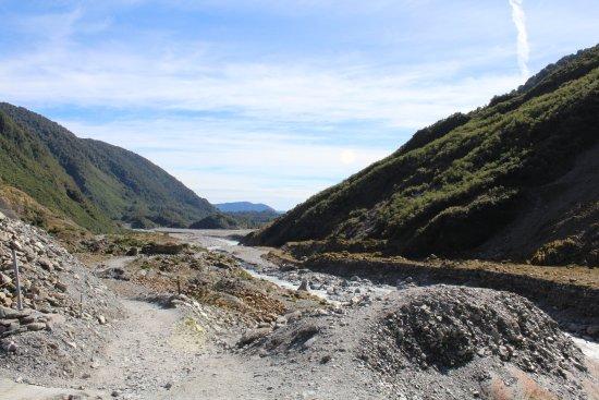 Franz Josef, Nova Zelândia: Glacier valley