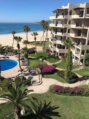 El Zalate Villas: View from our porch balcony!