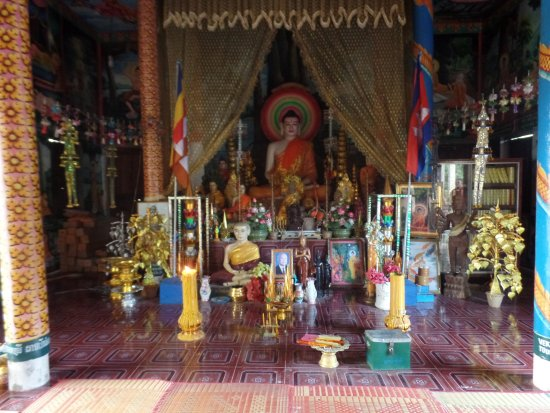 Battambang, Cambodia: bedevaartsoort nu ter nagedachtenis