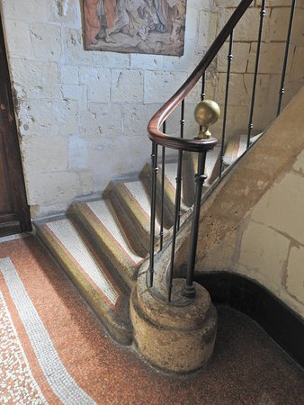 Chinon, Frankrijk: beautiful staircase