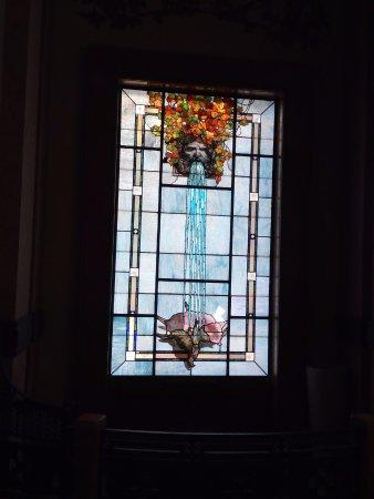 San Pellegrino Terme, Italia: Una bellissima vetrata