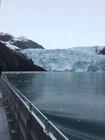 Seward, AK: Massive glaciers and beautiful geological sites