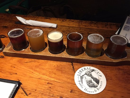 Hallowell, ME: Beer Sampler