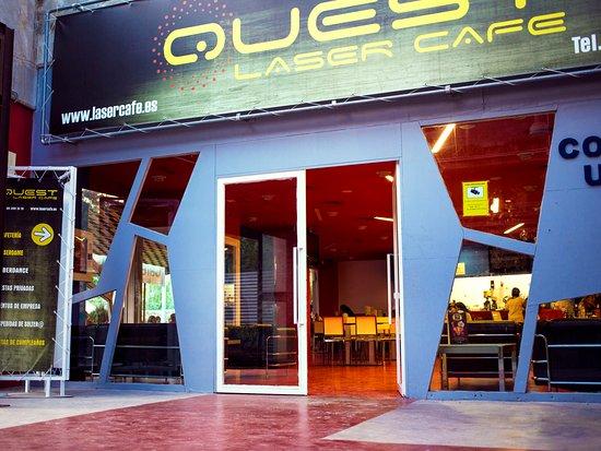 Quest Laser Cafe