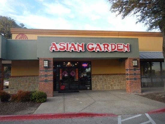 Asian Garden: Exterior
