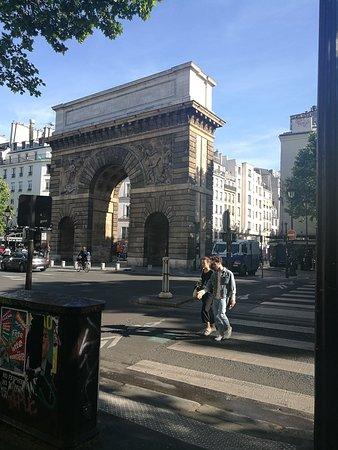 Porte saint martin picture of porte saint martin paris for Porte saint martin