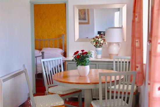 Cowbridge, UK: Living area looking into Bedroom ,Cottage No. 1 ( Wren)