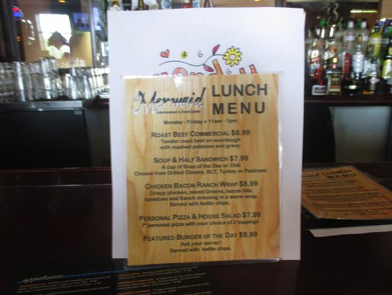 Mounds View, MN: Lunch Menu