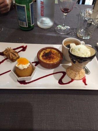 Haute-Savoie, France: le café gourmand