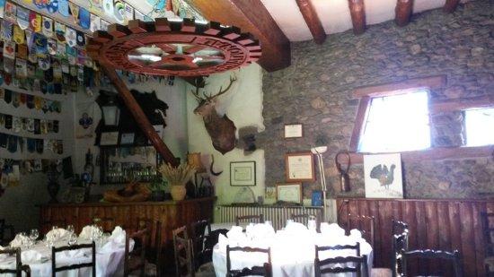 Saillagouse, France: salle de restaurant