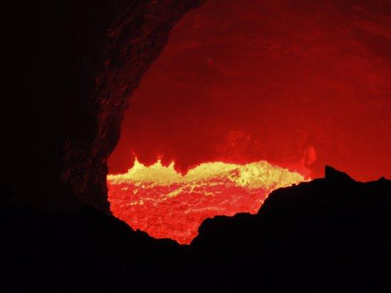 Departamento de Granada, Nicarágua: Lava del Volcán Masaya