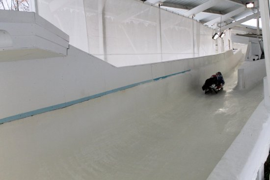 Team USA training, Bobsled and Luge Complex