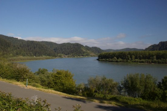 Historic Requa Inn: Spectacular view of the Klamath River