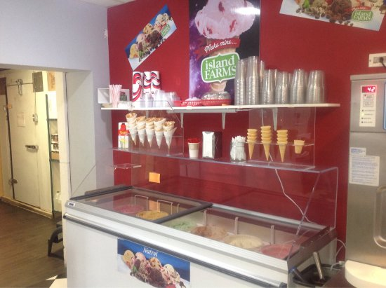 Kimberley, Kanada: Now also serving hard ice cream