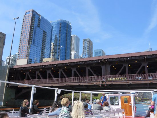 Shoreline Sightseeing: View from the boat