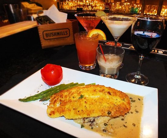 Royal Palm Beach, FL: paresean crusted fish