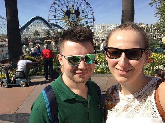Disney's California Adventure: selfie