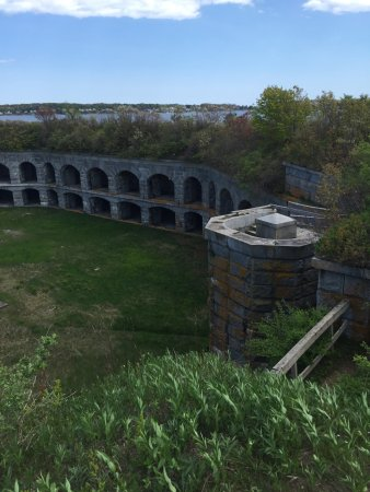 Fort Gorges: View from top