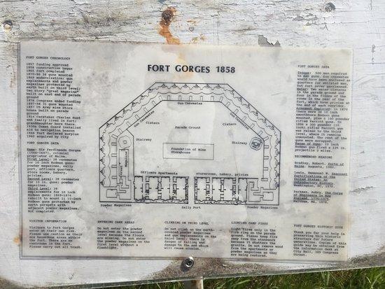 Fort Gorges description