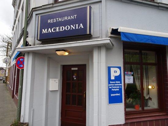 Macedonia Restaurant: Entré till restaurangen