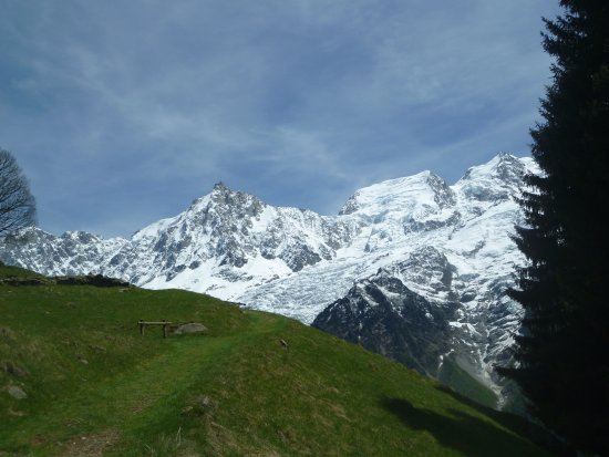 Les Houches, France: magnifique vue!