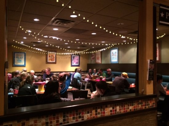 Hopkins, MN: Private dining area.