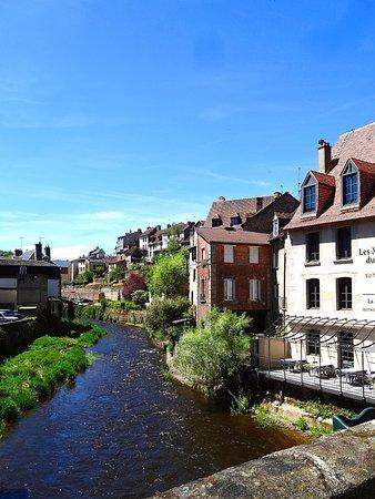 Aubusson, Frankrike: La Creuse, le quartier des tapissiers