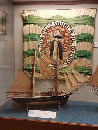 Museu da Marinha: Ancient Flag of a Ship