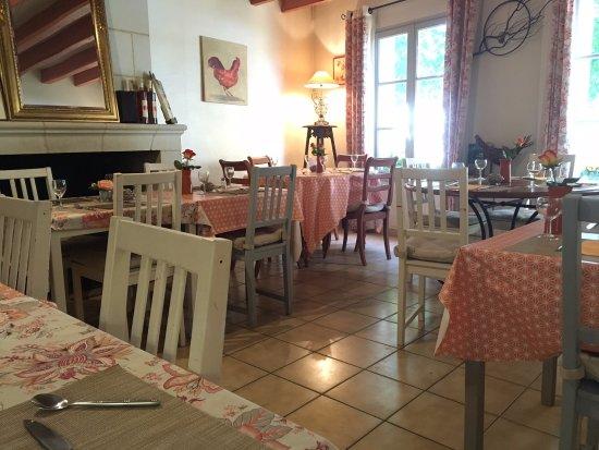 Montsoreau, Prancis: Salle de repas