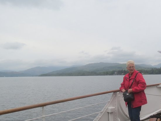 Bowness-on-Windermere, UK: My cousin Sonia