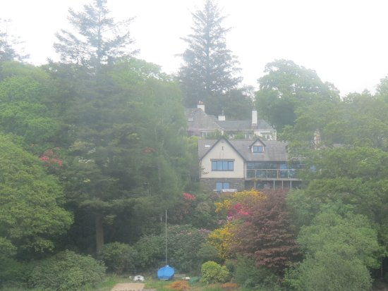 Bowness-on-Windermere, UK: House overlooking the lake