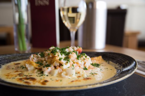 Beesands, UK: Renowned Seafood Pancake