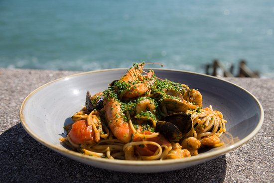 Beesands, UK: Seafood Linguine