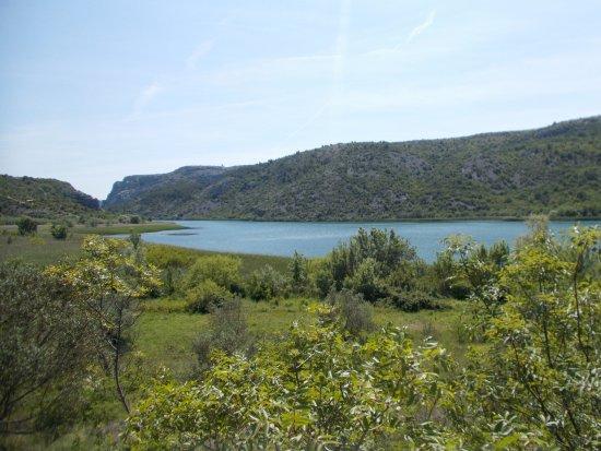 Skradin, Croácia: View from educational walk