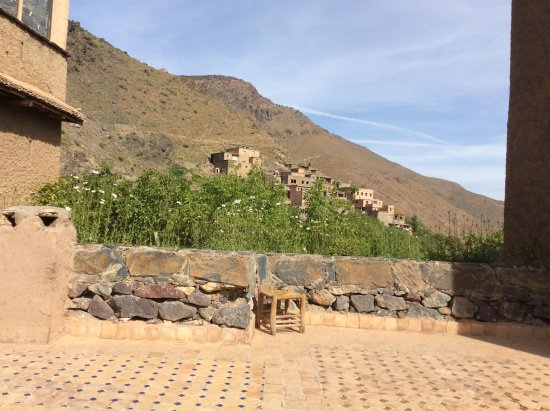 Kasbah Du Toubkal : View from the terrace
