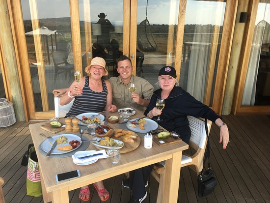 Welgevonden Game Reserve, Güney Afrika: Amazing lunch with Fritz