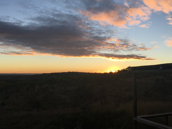 Welgevonden Game Reserve, Sudáfrica: Good morning sunshine ... from my bed