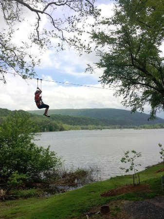 Ziplining Alongside The Potomac River Near Harpers Ferry Picture - Trip advisor harpers ferry