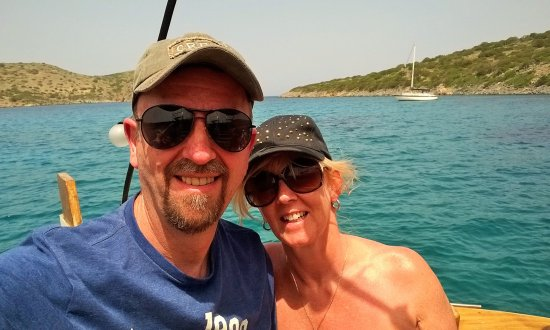 Elounda Heights Apartments and Studios : Boat trip