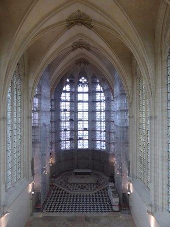 Chateau of Vincennes: La nef de la Sainte Chapelle